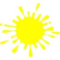 Χρώμα νερού κίτρινο 100ml